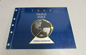 1999 Ford Taurus Mercury Sable Service Wiring Diagram ...