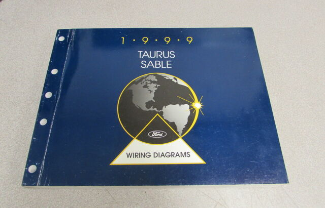 1999 Ford Taurus Mercury Sable Service Wiring Diagram