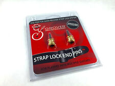 Grover Gold End Pins to Add Additional Guitars on Strap Lock System Gp810g