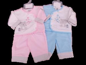 Nevo-Con-Etiqueta-Pequeno-Baby-Prematuro-Preemie-Osito-de-peluche-camiseta-y