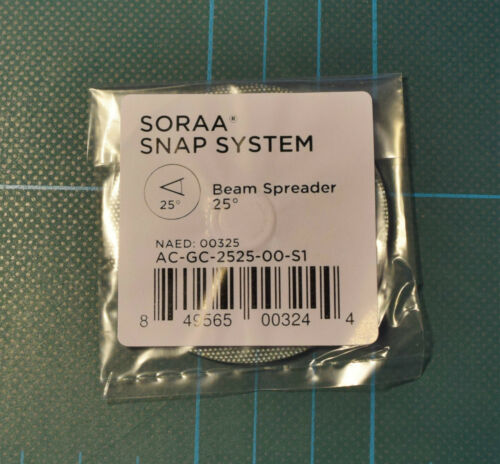 Soraa Snap System For Soraa 10° LED MR16 Stackable Magnetic Lens Self Centering