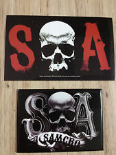 Sons Of Anarchy SOA Samcro Magnet & Sticker Great TV Show FX ** ONLY 2 LEFT **