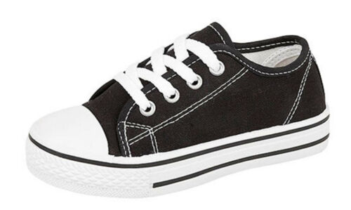 Trainers Urban Jacks Black and White Casual Canvas Shoes