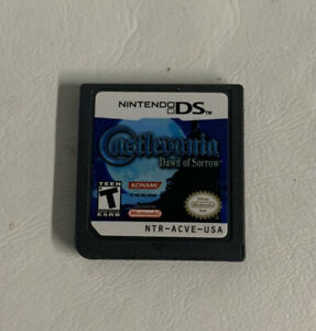 Castlevania: Dawn Of Sorrow (Nintendo DS) Authentic Cartridge Only FAST SHIPPED