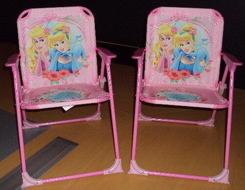 Disney Prinzessin  2 Gartenstühle Alter 3 NEU