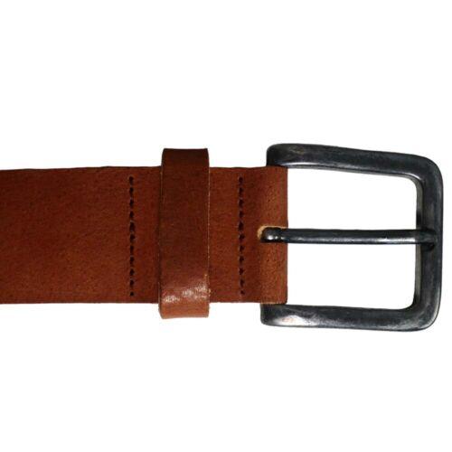 Leather Mens Belt Belts Strap 100/% Genuine Full Grain Real Brown TOP BRAND