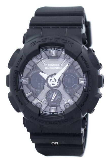 Casio G-Shock S Series World Time GMA-S120MF-1A GMAS120MF-1A Women's Watch