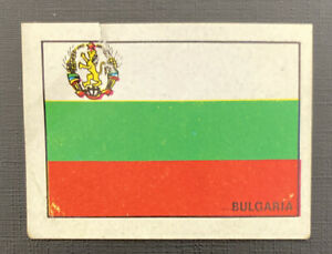 PANINI MEXICO 70 ORIGINAL BULGARIA.FLAG BADGE STICKER