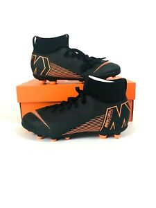 cfabf7a7cfe Nike Kids Mercurial Superfly 6 Club MG Cleat (Black Total Orange ...