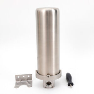 """Water Filter Whole House Housing Sediment Home Filter System 3/4"""" Inlet/Outlet"""