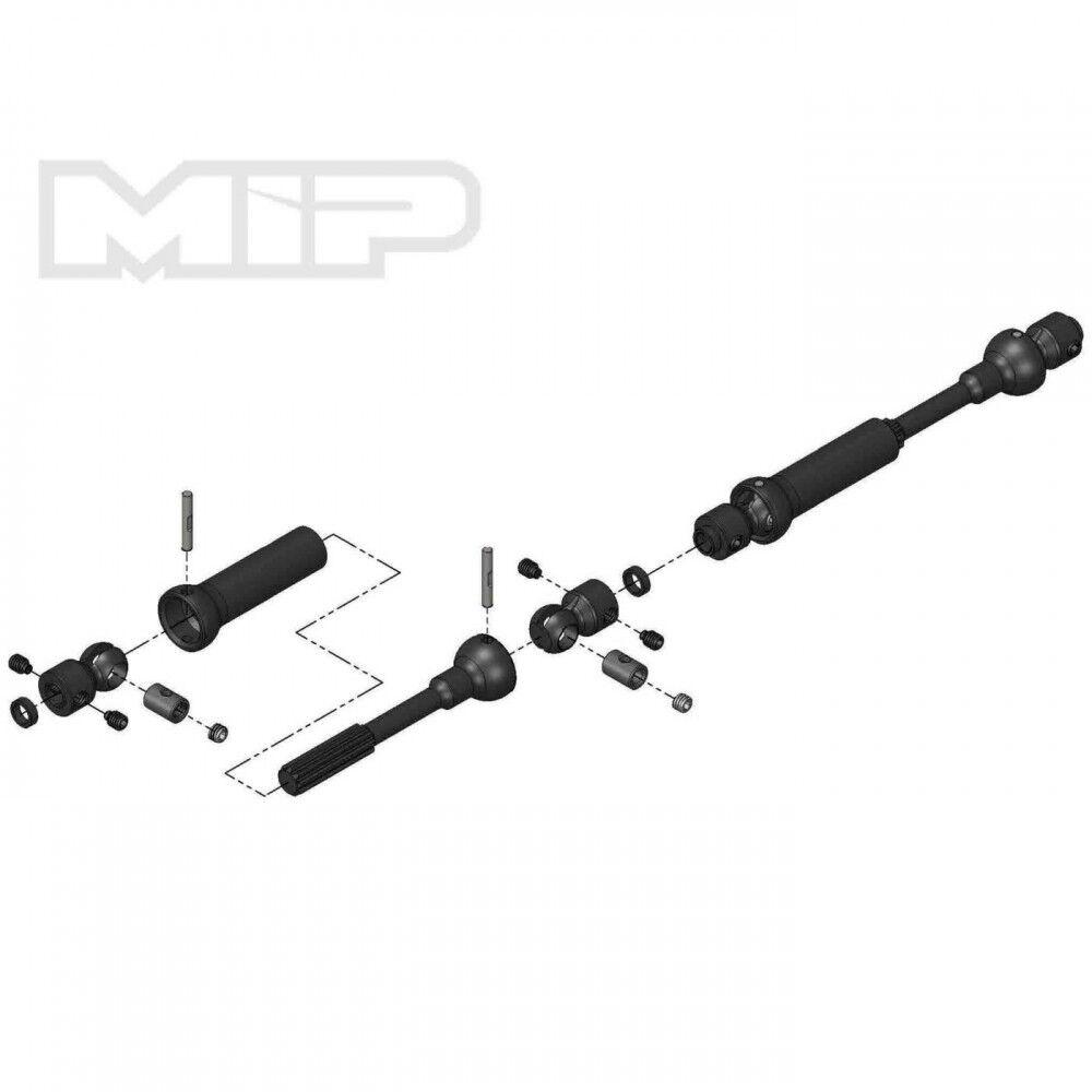 buona reputazione MIP Center Drive Kit 110mm x 135mm w 5mm 5mm 5mm Hubs MIP18120  acquista marca