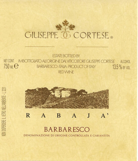 1   DP. MAGNUM BOX DA 3  LT. BARBARESCO DOCG