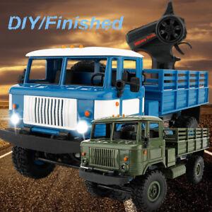 faire soi m me finale 1 16 4x4 rc militaire camion crawler 2ch rtr t l commande jouet ebay. Black Bedroom Furniture Sets. Home Design Ideas