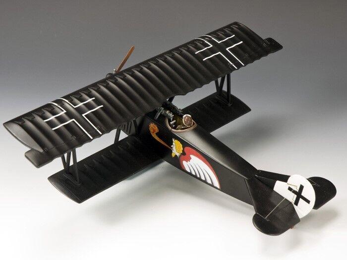 King & Country Soldados FW112 WWI Fokker Dvii Leut Josef Jacobs Jasta 7