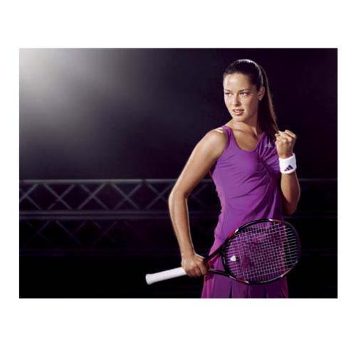 RARE ADIDAS adilibria ANA IVANOVIC TENNIS DRESS XS EXTRAS purple PURPLE STUNNING