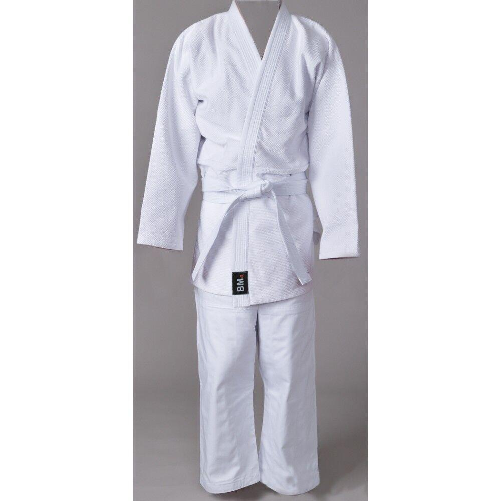 Judo Single Weave Beginner's Gi Uniform - Free White Belt - BMA-TRAIN-III
