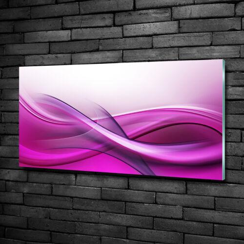 Wandbild aus Plexiglas® Druck auf Acryl 100x50 Kunst Wellen