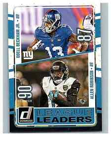 2016-Donruss-League-Leaders-13-Allen-Robinson-Odell-Beckham-Jr