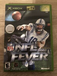 NFL-Fever-2002-Microsoft-Xbox-Complete-W-box-amp-Manual