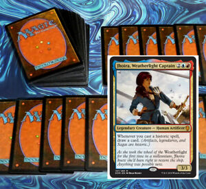 mtg-RED-BLUE-IZZET-JHOIRA-COMMANDER-EDH-DECK-Magic-the-Gathering-rare-niv-mizzet