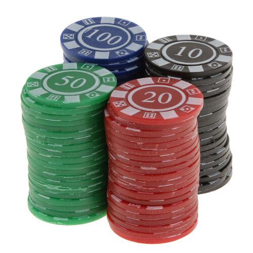 Poker Chips pokerset Spielchips Roulette Spielmarken Zählchips