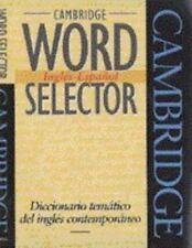 Cambridge Word Selector Inglés-Español: Diccionario temático del