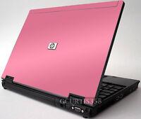 Pink Vinyl Lid Skin Cover Decal Fits Hp Elitebook 6930p Laptop