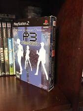 Shin Megami Tensei: Persona 3 (PS2, Limited Collector's Edition) MINT. RARE!