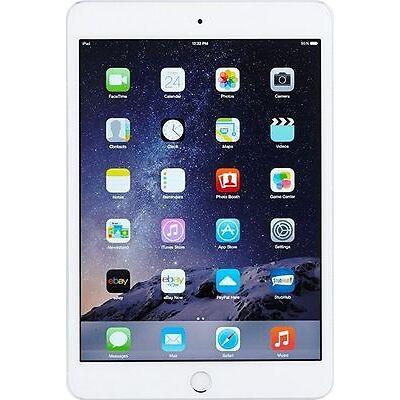 Apple iPad mini 3 16GB, Wi-Fi + Cellular (Unlocked), 7.9in - Silver