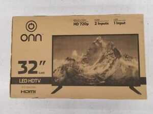 ONN-32-034-HD-LED-TV-60Hz-16-9-2x-HDMI-720p-ONC17TV001-with-remote-amp-stand-Perfect