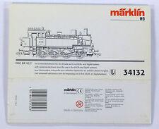 Märklin 34132 LEERKARTON Hülse Dampflok BR92 705 DIGITAL Umkarton Schuber Karton