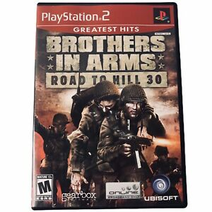 PS-2-Brothers-in-Arms-Road-to-Hill-30-PlayStation-2-Complete-Shooter-Rated-M