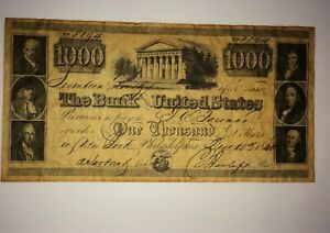 Bank Note The United States 8894