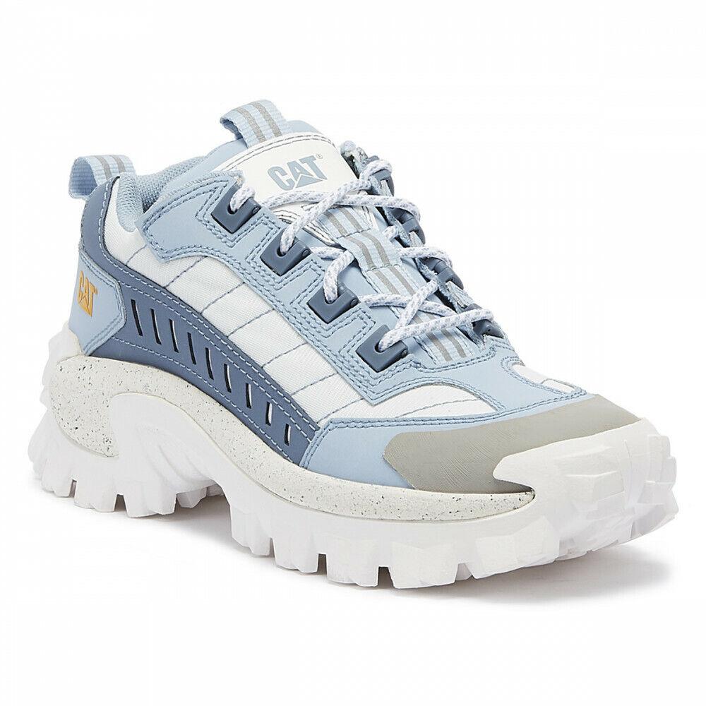Cat Caterpillar Intruder 3 Unisex Light bluee Trainers P7234459 EUR 40 USA 7 UK 6