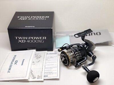 f69bb545545 Shimano Spinning Reel 17 Twin Power XD 4000xg for sale online | eBay