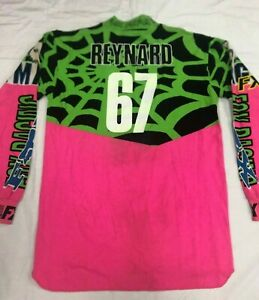 VINTAGE-Robbie-Reynard-signed-67-Motocross-Jersey-Thom-Veety-Collection-AHRMA