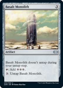 Basalt Monolith - Foil x1 Magic the Gathering 1x Double Masters mtg card