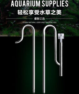Stainless-Steel-aquarium-lily-pipe-inflow-outflow-surface-skimmer-16-22-12-16