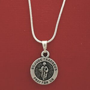 St-Jude-Necklace-Medal-Charm-Pendant-and-Chain-Saint-Thaddeus