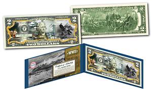 PEARL HARBOR World War II Genuine Legal Tender U.S. $2 Bill - WWII Dec 7th 1941