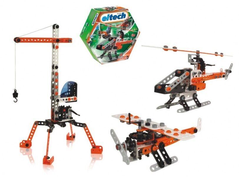 Beginner 10 Model Eitech C332 Construction Building Toy Model Kit