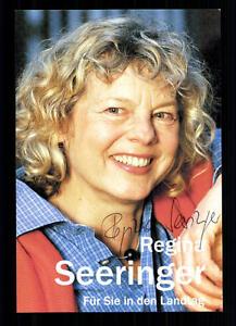 Regina-Seeringer-Autogrammkarte-Original-Signiert-BC-29232