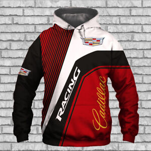 Cadillac-Escalade-CT6-XT5-CTS-V-Racing-Hoodie-3D-Man-039-s-TOP-GIFT-Size-S-to-5XL