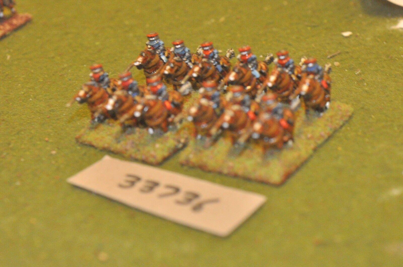 15mm medieval   burgundian - heavy 12 figures - cav (33736)