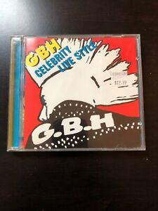 GBH-Celebrity-Live-Style-CD-Punk-Rock-Hardcore-Exploited-Discharge-Subhumans