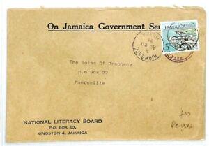 Pratique La Jamaïque Highgate Officiel National Literacy Board Réutilisés 1974 {samwells} Cw285