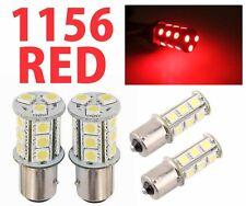 Red 18 LED Car Auto Tail Rear Turn Brake Light Bulbs Lamp BA15S 1156 5007 S25