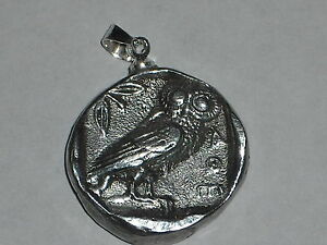 330-BC-ANCIENT-COIN-PENDANT-HIGH-RELIEF-WISE-ATHENIAN-OWL-925-BAIL