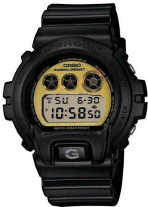 6bc62555e089 Casio G-Shock Classic DW-6900PL-1ER Black with Gold Metallic Dial ...