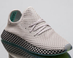 super popular 87b1e 06d6a Image is loading adidas-Originals-Deerupt-Runner-Men-New-Grey-Lifestyle-